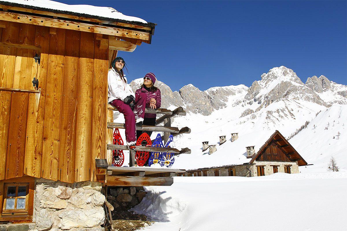 Inverno in Val di Fassa