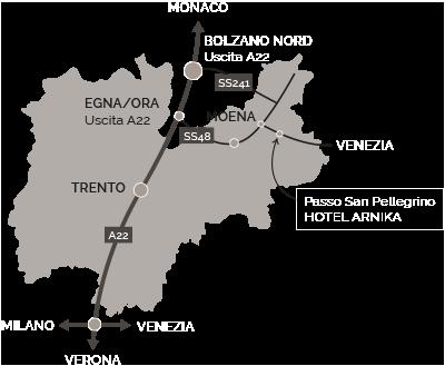 Cartina Trentino