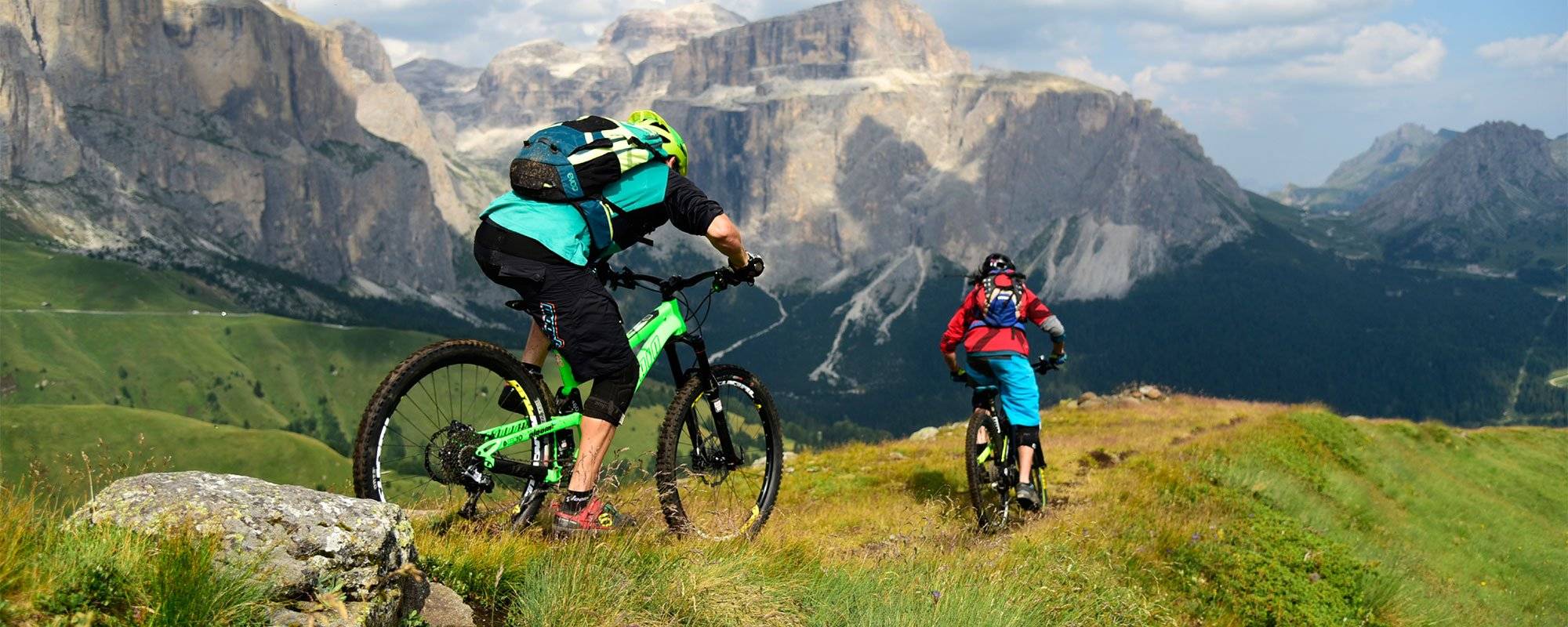 Ciclisti in alta quota