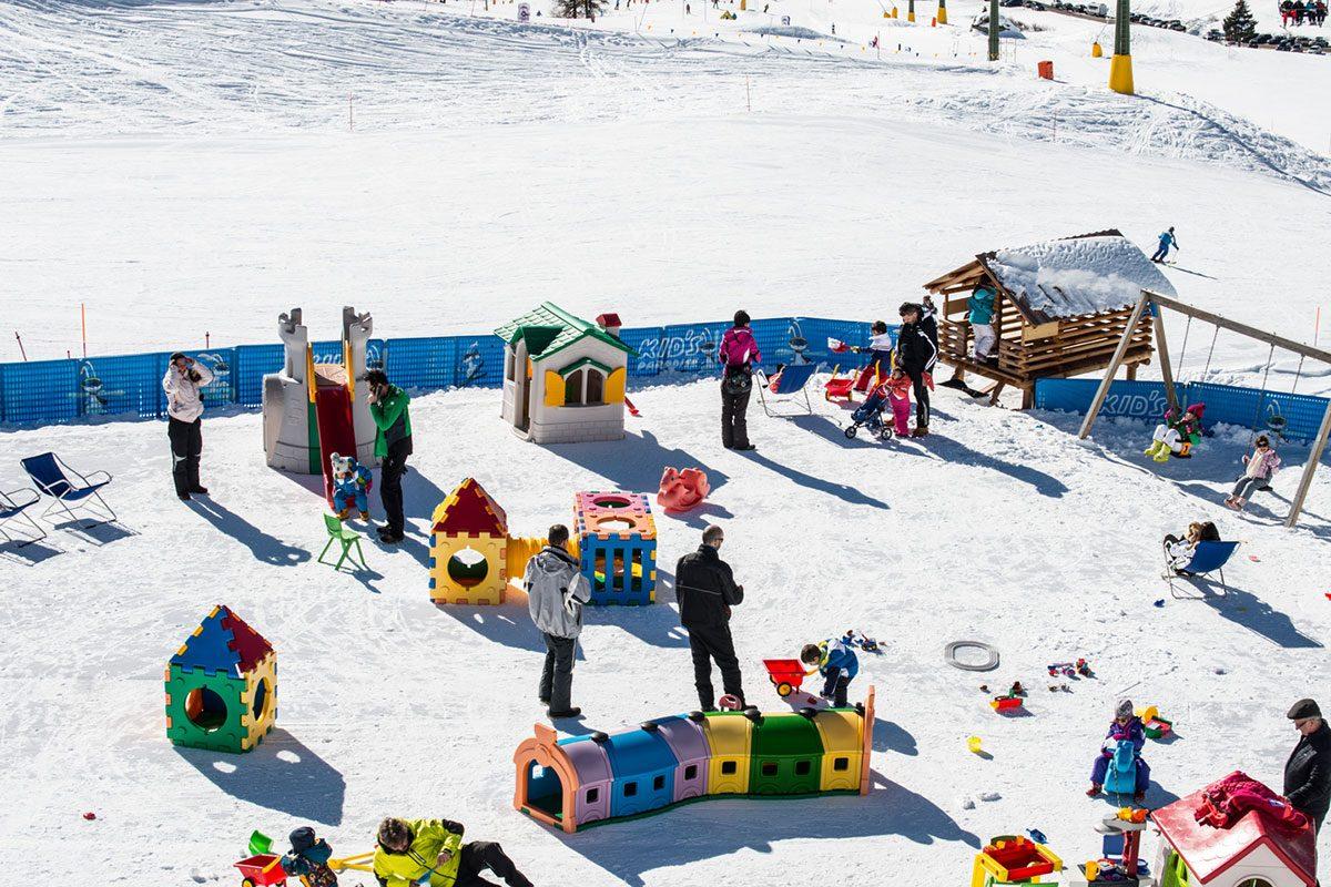 Cima Uomo parco per bambini