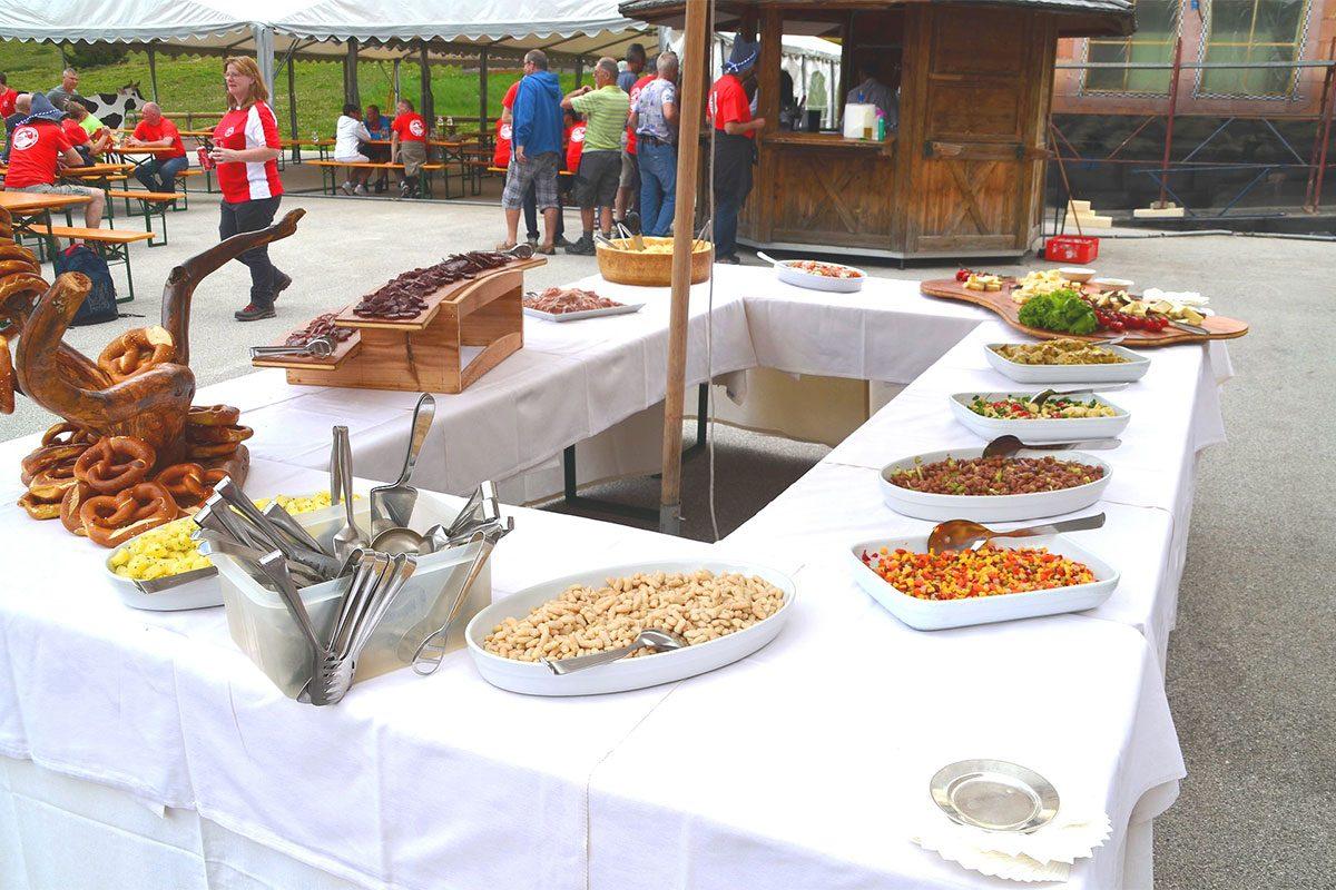 Buffet festa campestre