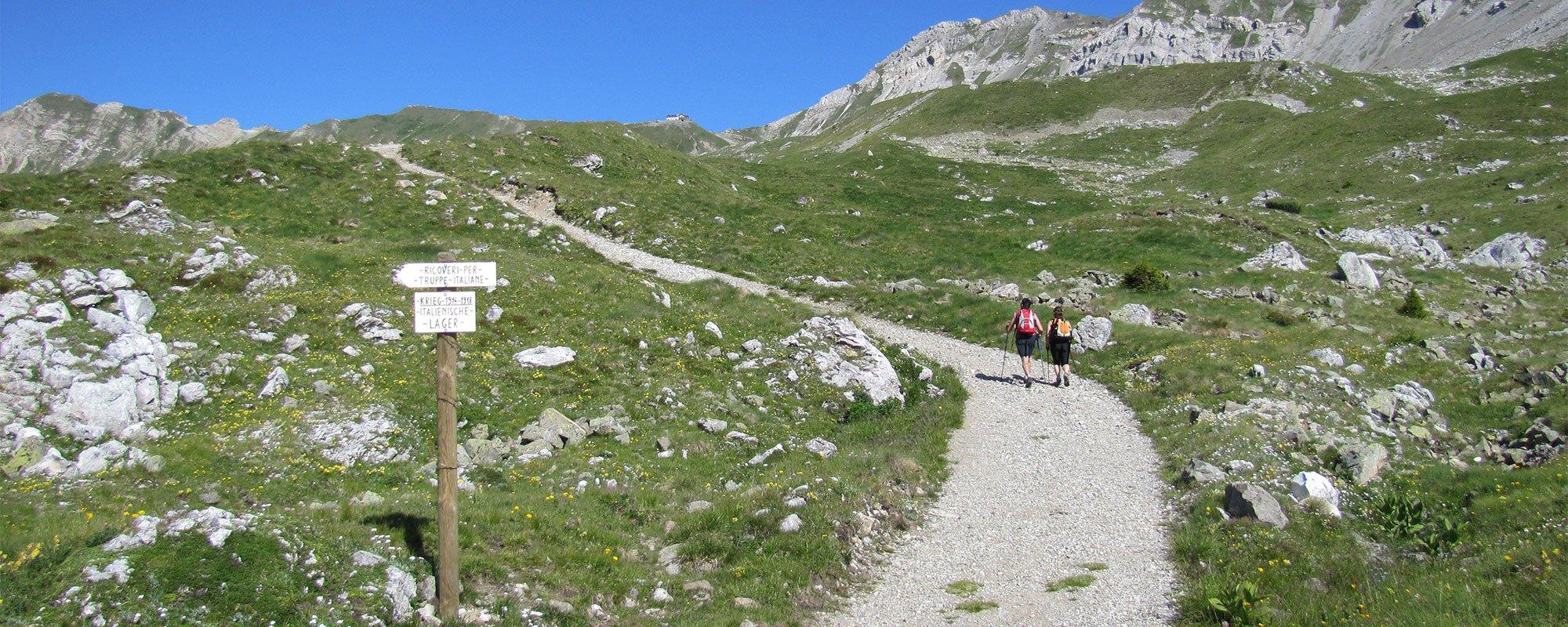 Gita in montagna