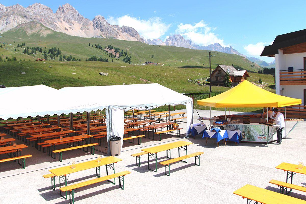Festa campestre Passo San Pellegrino