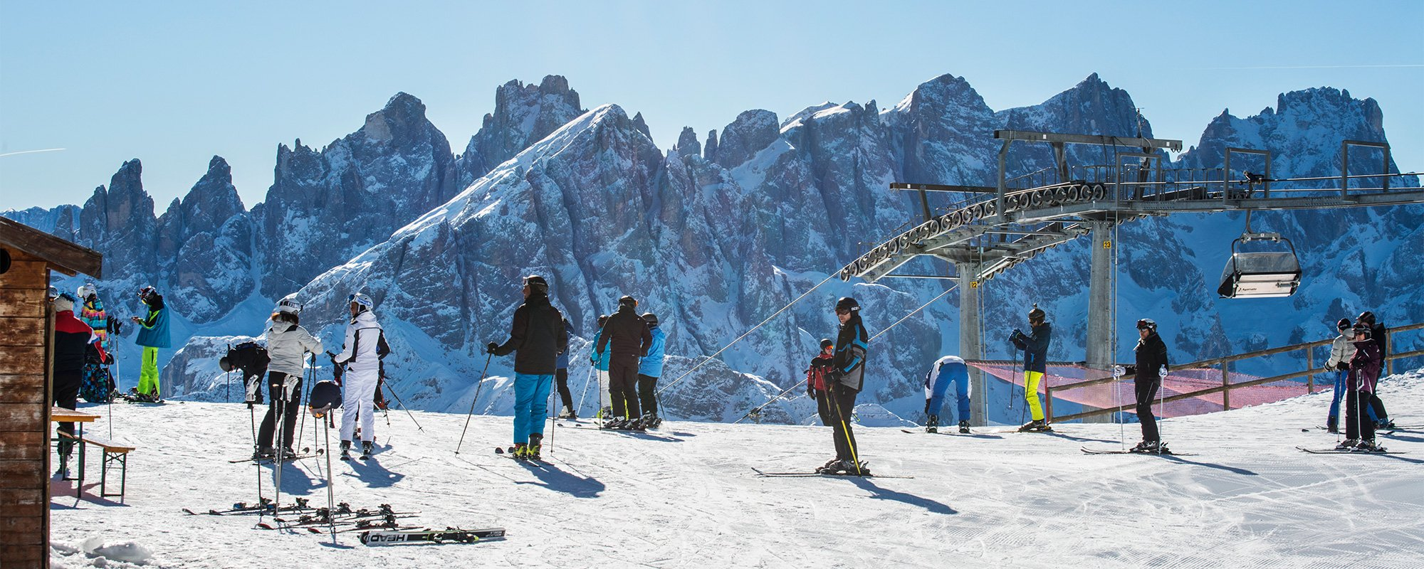 Sciare in Val di Fassa